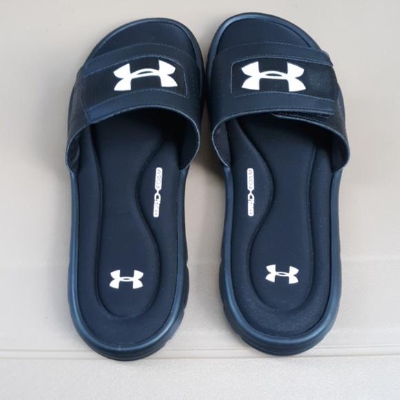 Under Armour 4D Foam Sandals Nwot Under Armour 4D Foam Sandals Shoes